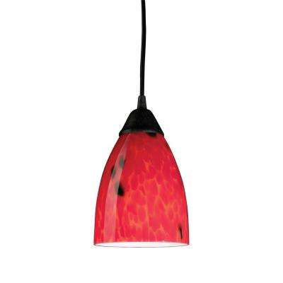 red pendant lighting. classico 1light dark rust ceiling mount pendant red lighting