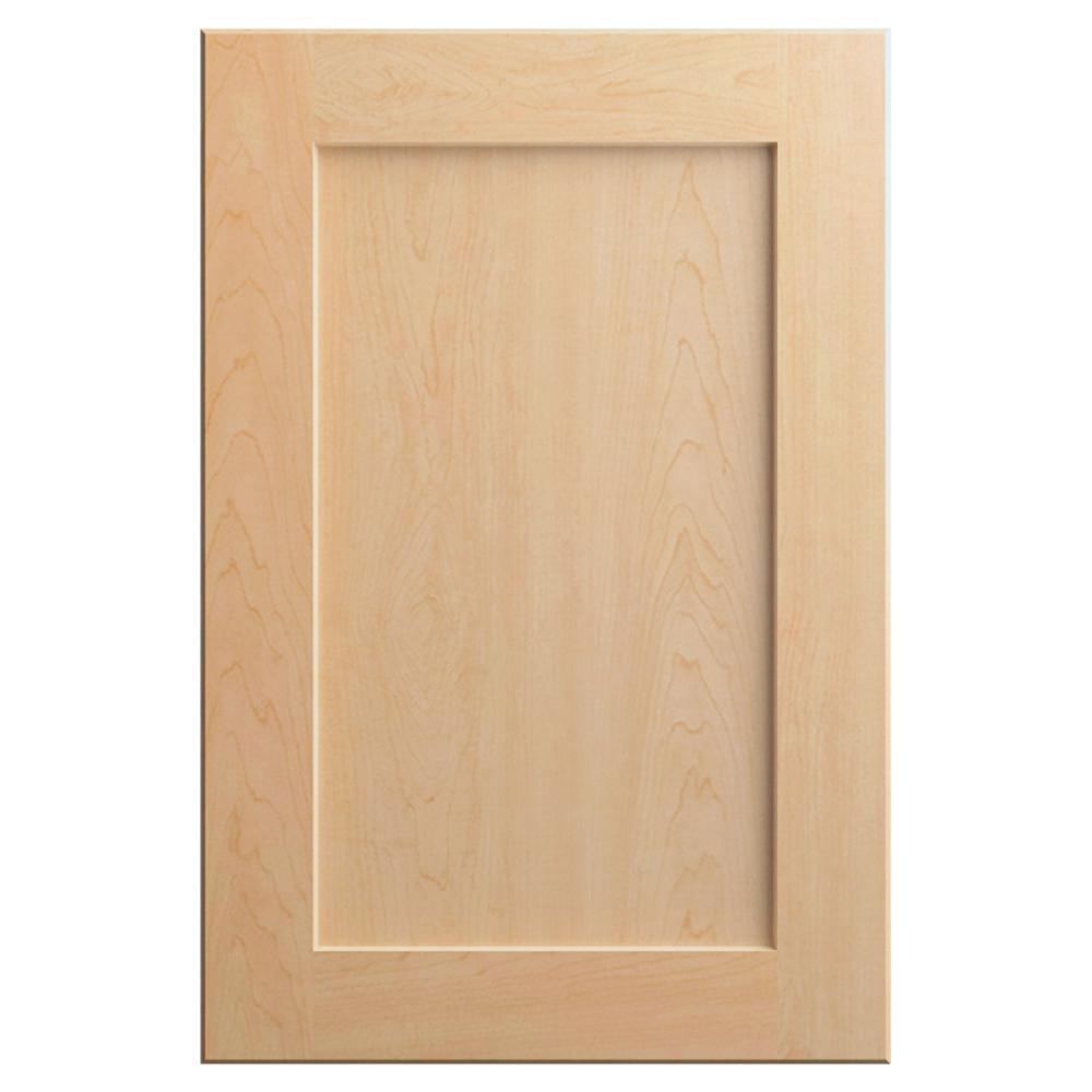 11x15 in. Soleste Cabinet Door Sample in Natural