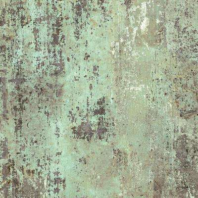 8 in. x 10 in. Laminate Sheet in Jadeite Milk Paint with Virtual Design Antique Finish