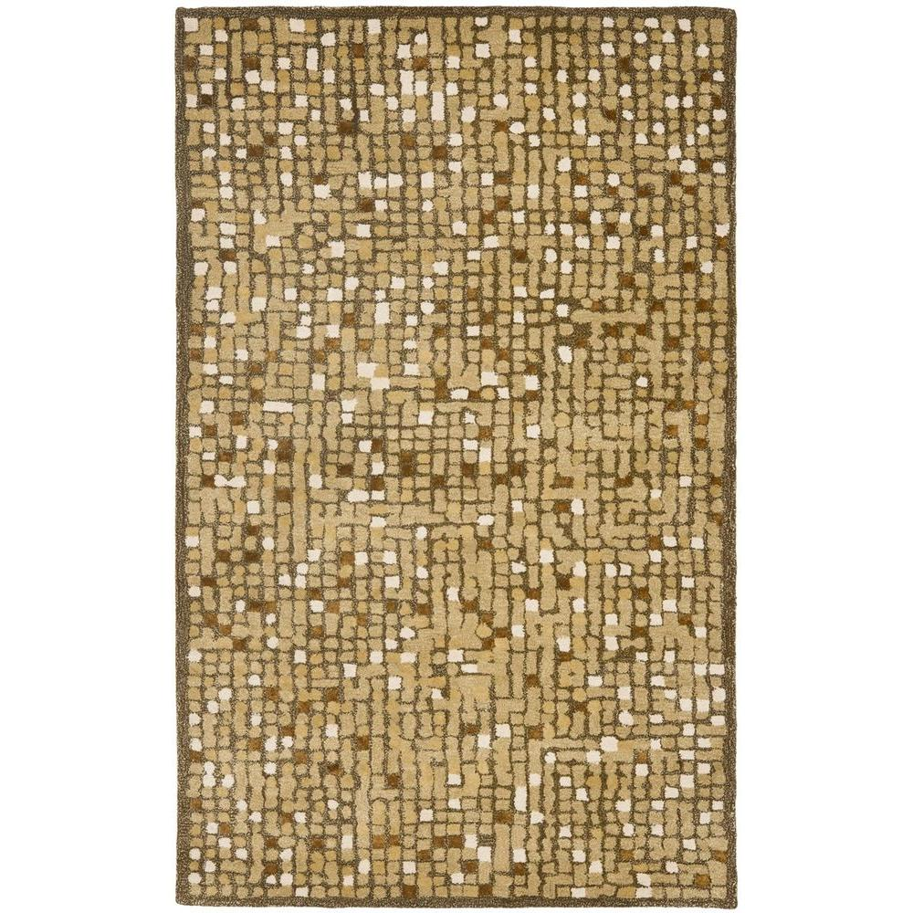 Safavieh Martha Stewart Mosaic Oolong Tea Green 5 ft. x 8 ft. Area Rug