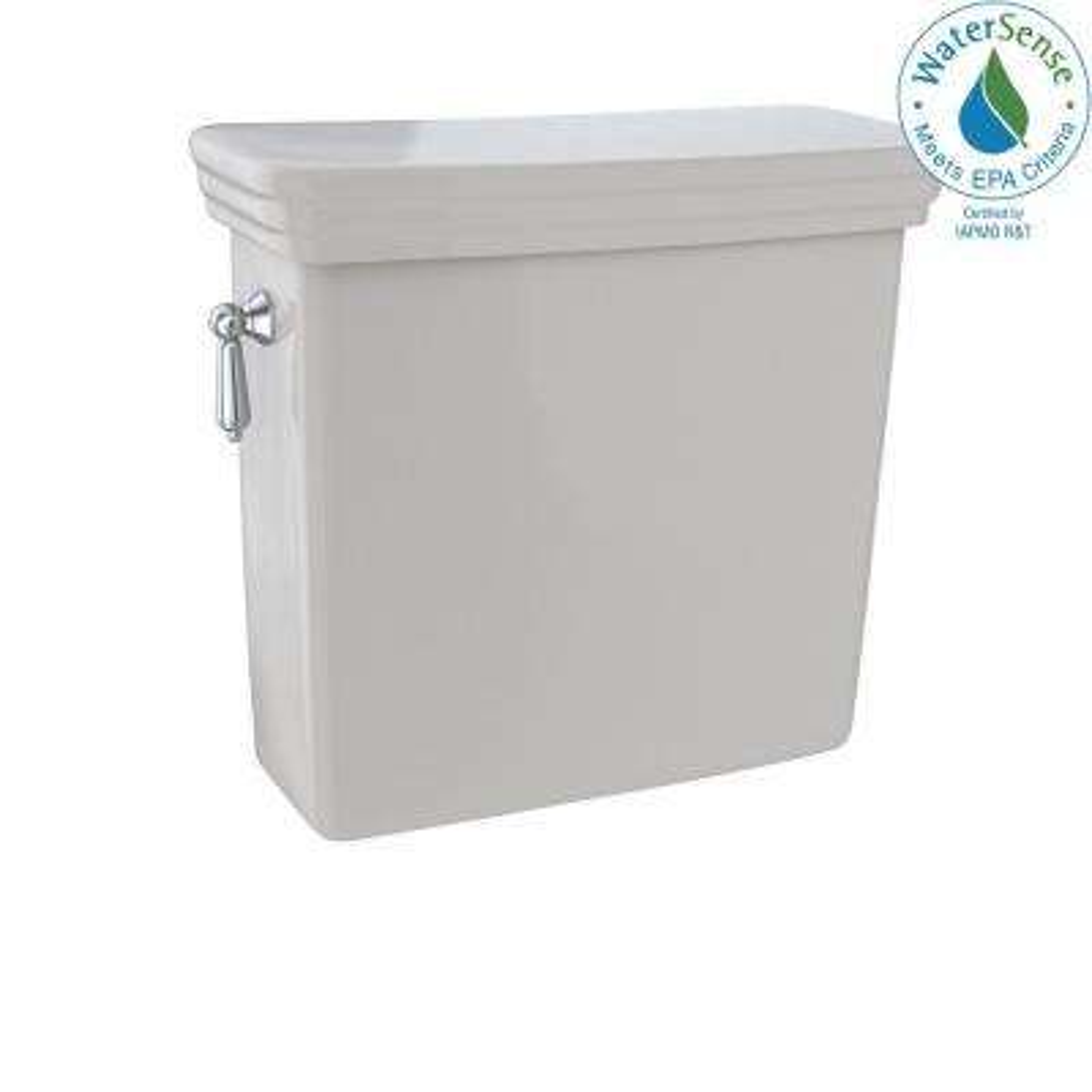 Promenade 1.28 GPF Single Flush Toilet Tank Only in Sedona Beige