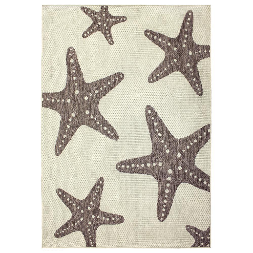 Hampton Bay Starfish Beige 7 Ft 5 In X 10 Ft 8 In