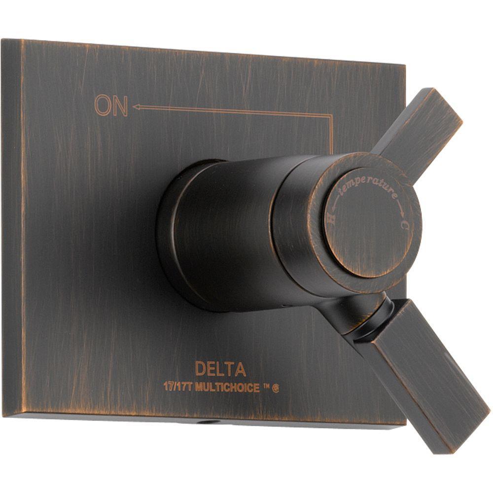 Delta Vero TempAssure 17T Series 1-Handle Vol./Temp. Control Valve ...