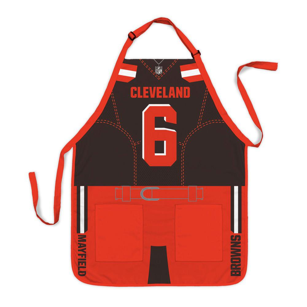 huge discount 09aa2 ec48f Party Animal Baker Mayfield Cleveland Browns NFL Jersey Apron