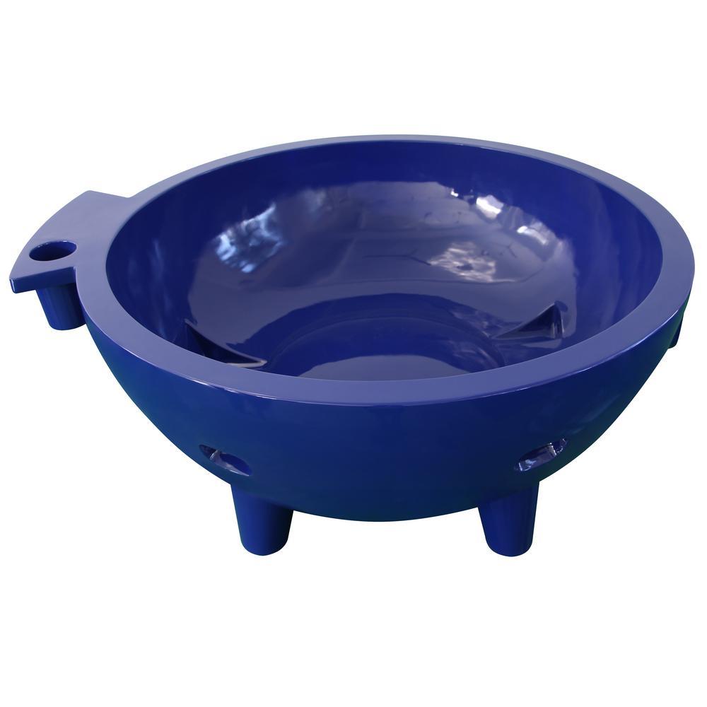 ALFI BRAND Fire Hot Tub-DB 63 in. Acrylic Flat Bottom Bathtub in ...