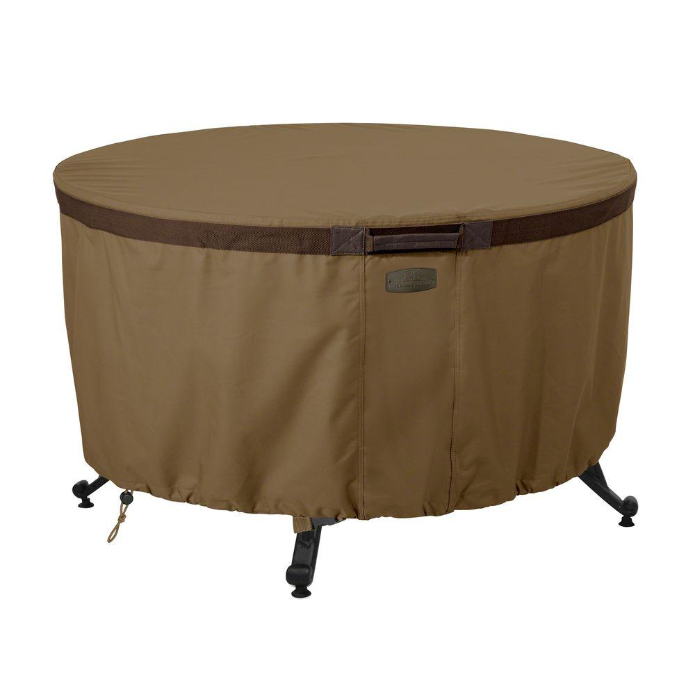 Classic Accessories Hickory 42 in. Round Fire Pit Table Cover