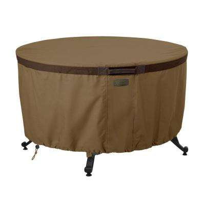 Hickory 42 in. Round Fire Pit Table Cover