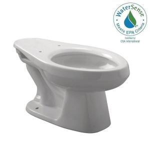 Zurn EcoVantage 1.28 GPF Elongated Toilet Bowl Only in White by Zurn