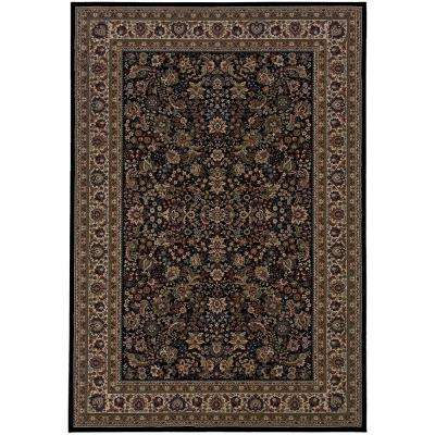 Westminster Black 12 ft. x 15 ft. Area Rug