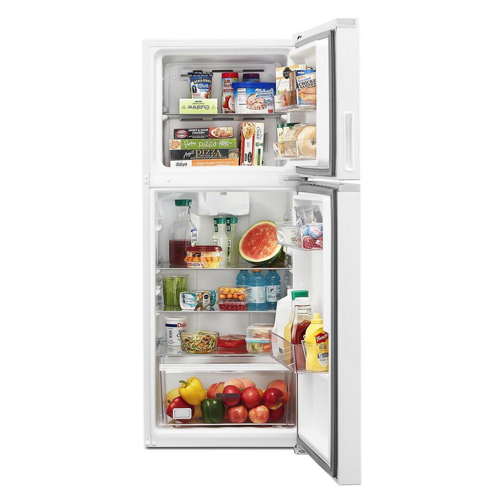 11.6 cu. ft. Top Freezer Refrigerator in White, Counter Depth