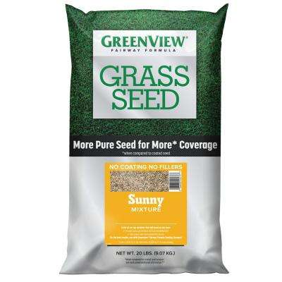 20 lbs. Fairway Formula Grass Seed Sunny Mixture