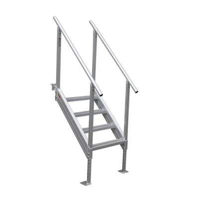 4-Step Universal Mount Aluminum Dock Stair