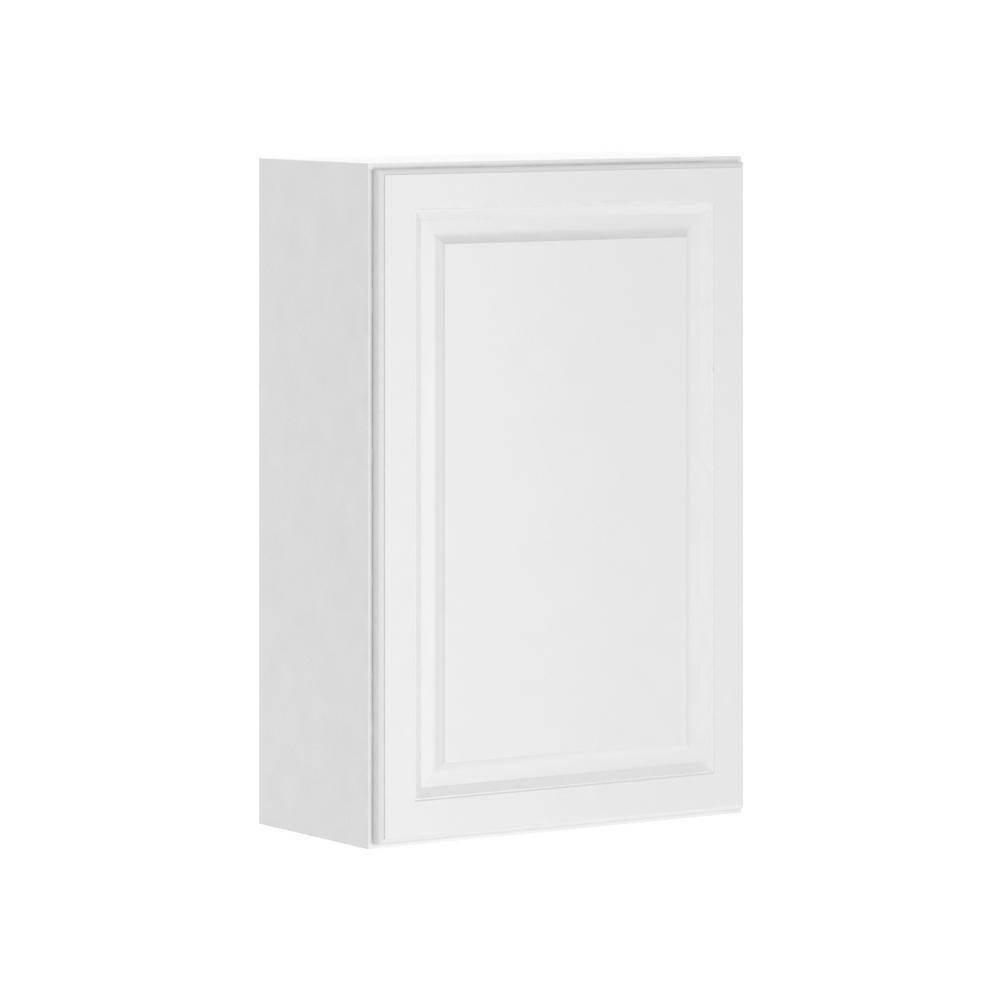 Hampton Bay Madison Assembled 24x36x12 In Wall Cabinet In
