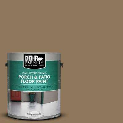 1 gal. #N300-6 Archaeological Site Low-Lustre Enamel Interior/Exterior Porch and Patio Floor Paint
