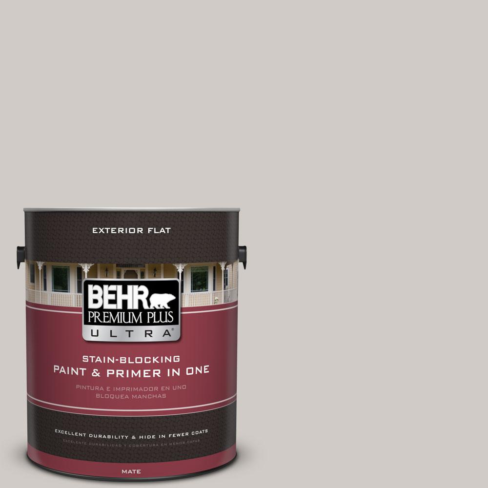 1-Gal. #PPU18-9 Burnished Clay Flat Exterior Paint