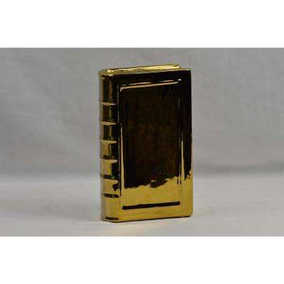 Gold Small Ceramic Bookend
