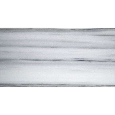 Metro White 4 in. x 10 in. Marble Floor and Wall Tile (0.28 sq. ft.)