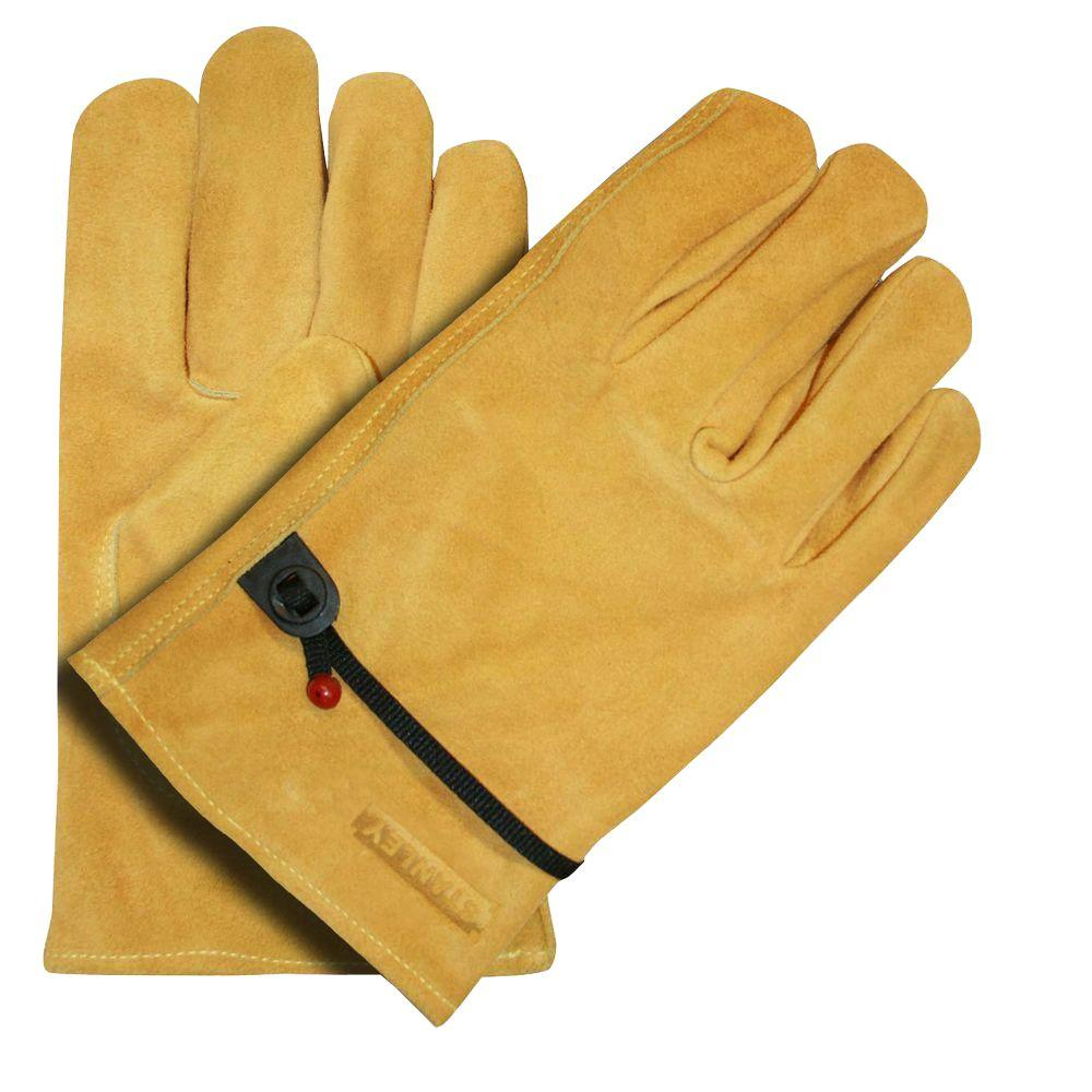 Stanley Split Cowhide Ball and Tape Medium Driver Glove