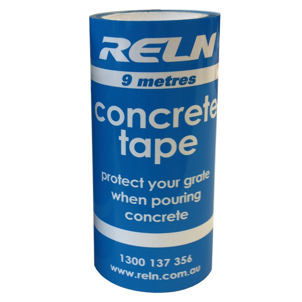 RELN RELN 4.75 in. x 30 ft. Channel Grate Concrete Tape, Clear