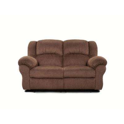 Lizabelle Aspen Chocolate Reclining Loveseat