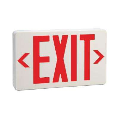 7.53 in. x 12 in. LED Exit Sign