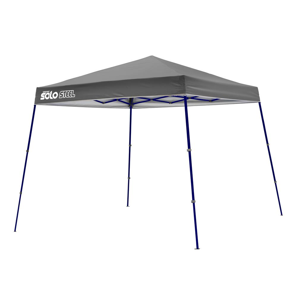 Gray Slant Leg Pop-  sc 1 st  Home Depot & 90 ft. x 11 ft. x 11 ft. Gray Slant Leg Pop-Up Instant Canopy ...