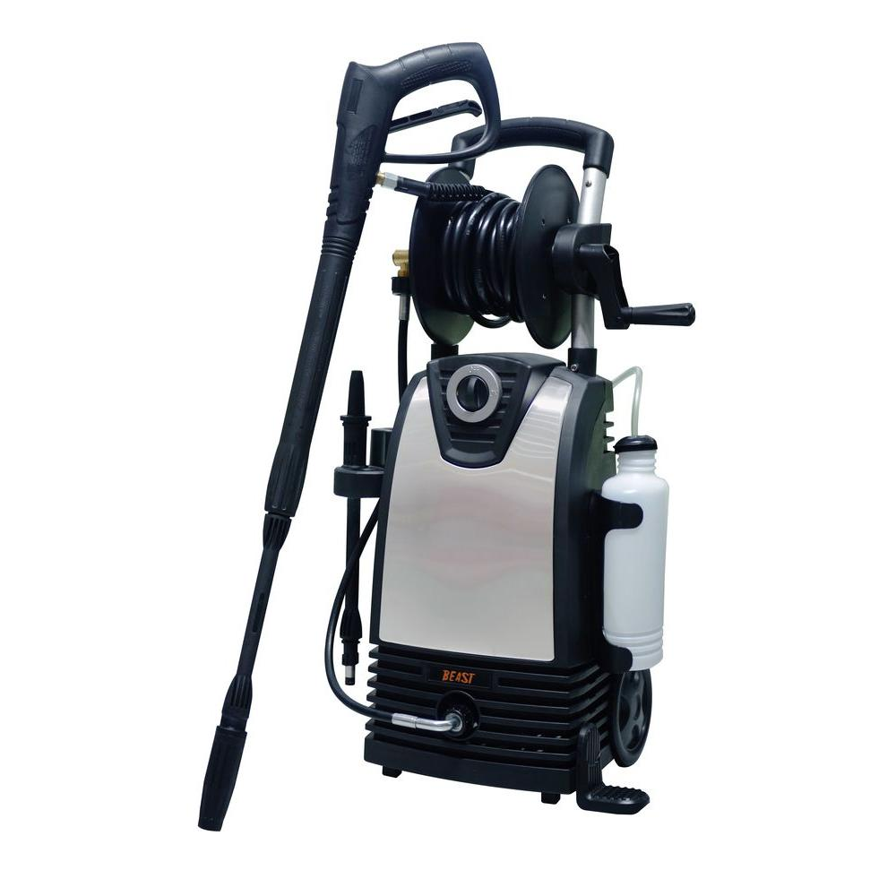 Beast 2,000 psi 1.5 GPM Electric Pressure Washer with Multiple Accessories