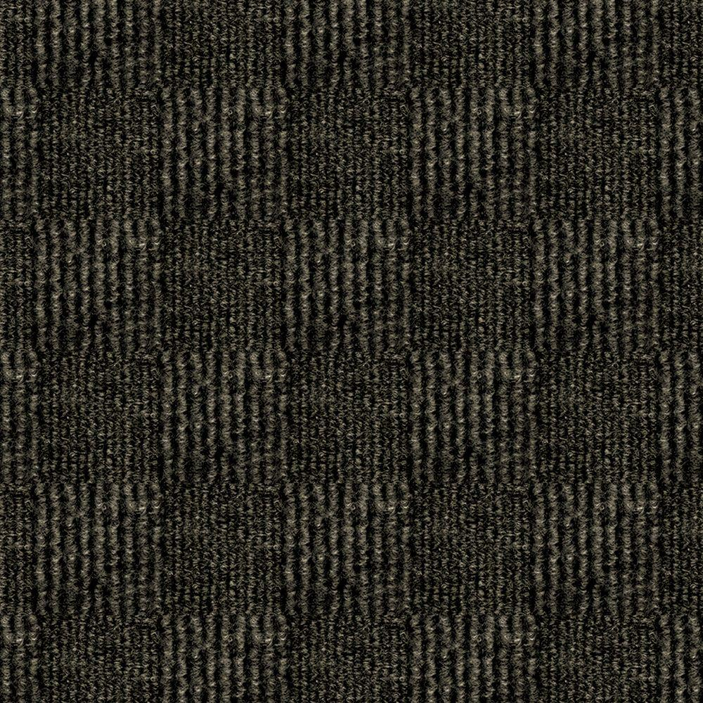 First Impressions City Block Mocha Texture 24 in. x 24 in.