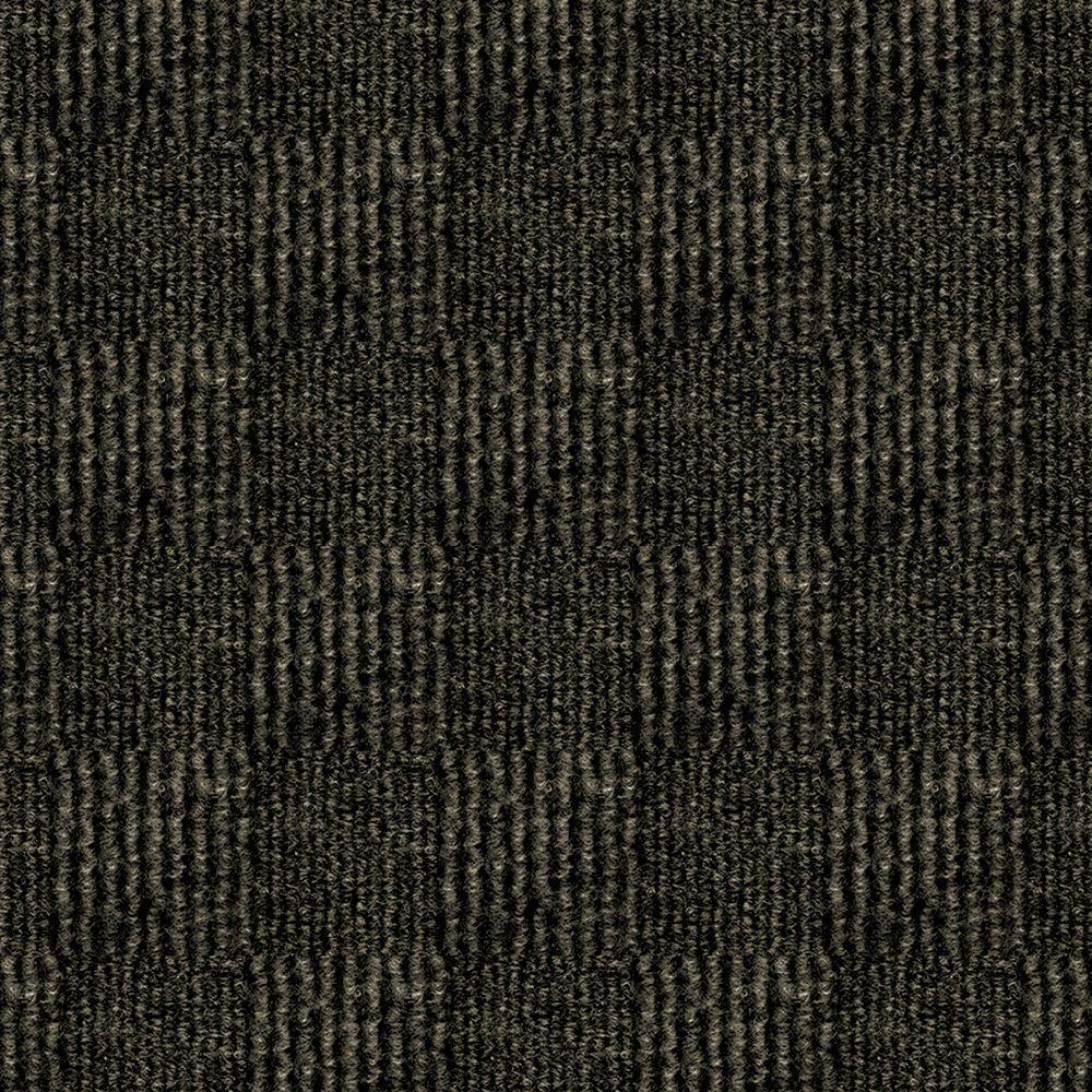 carpet tile texture. Exellent Texture First Impressions City Block Mocha Texture 24 In X Carpet Tile  Intended O