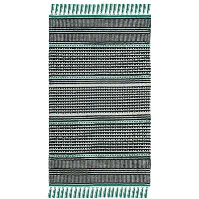 Montauk Teal/Multi 2 ft. 3 in. X 3 ft. 9 in. Area Rug