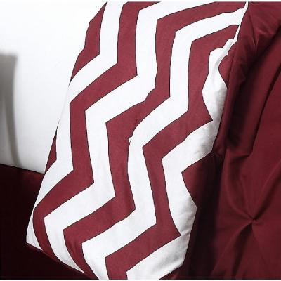 Venice 7-Piece Red Queen Comforter Set