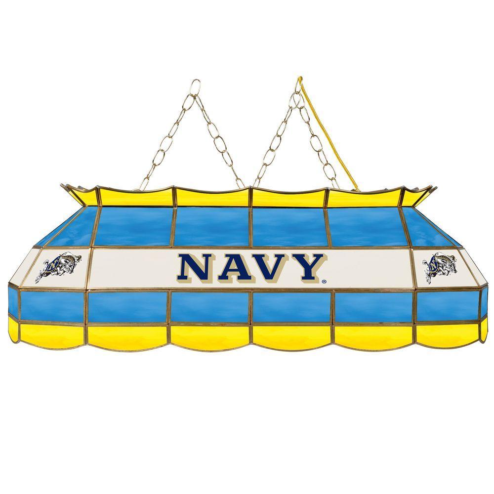 Trademark United States Naval Academy 40 in. Gold Tiffany...