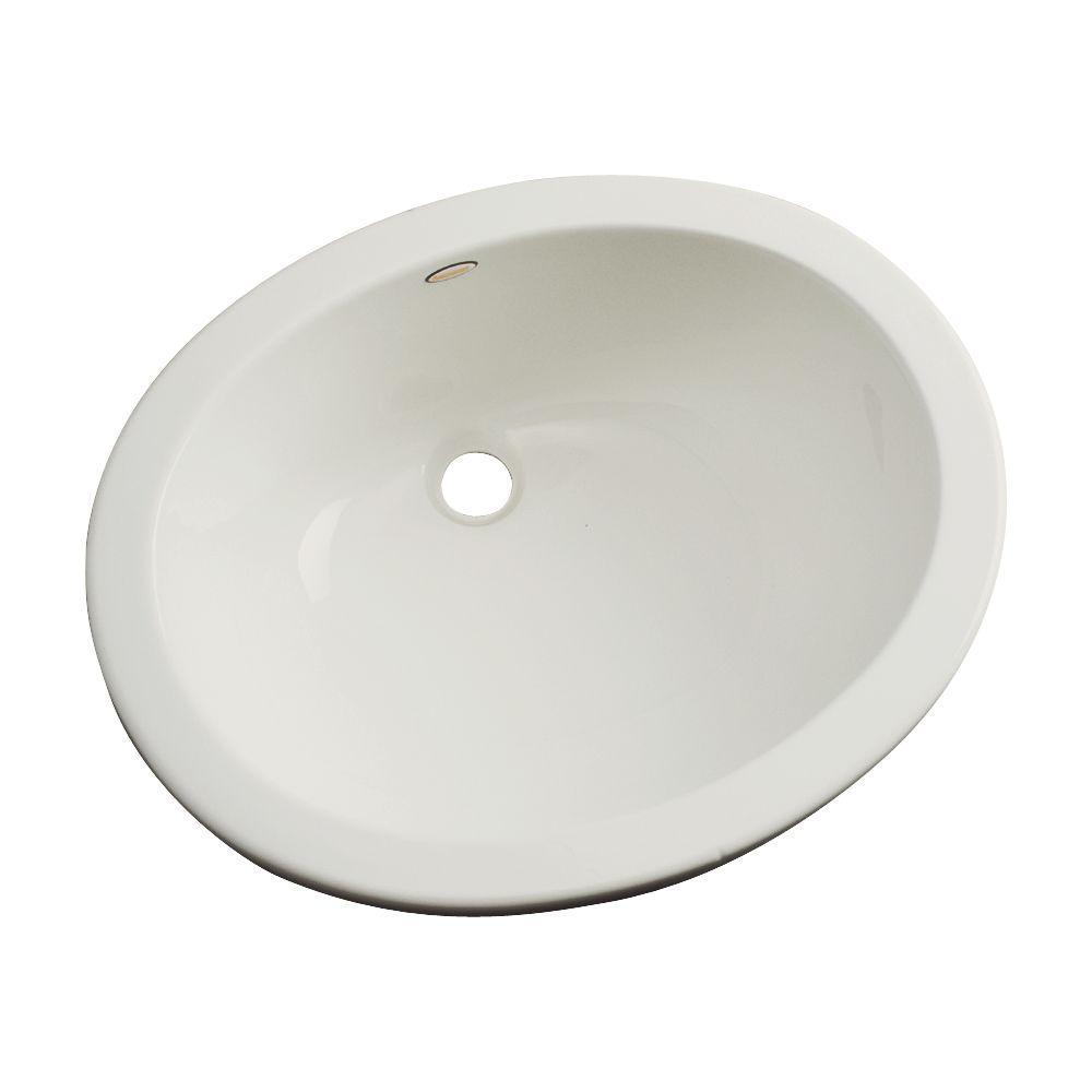 Thermocast Montera Undermount Bathroom Sink in Tender Gray