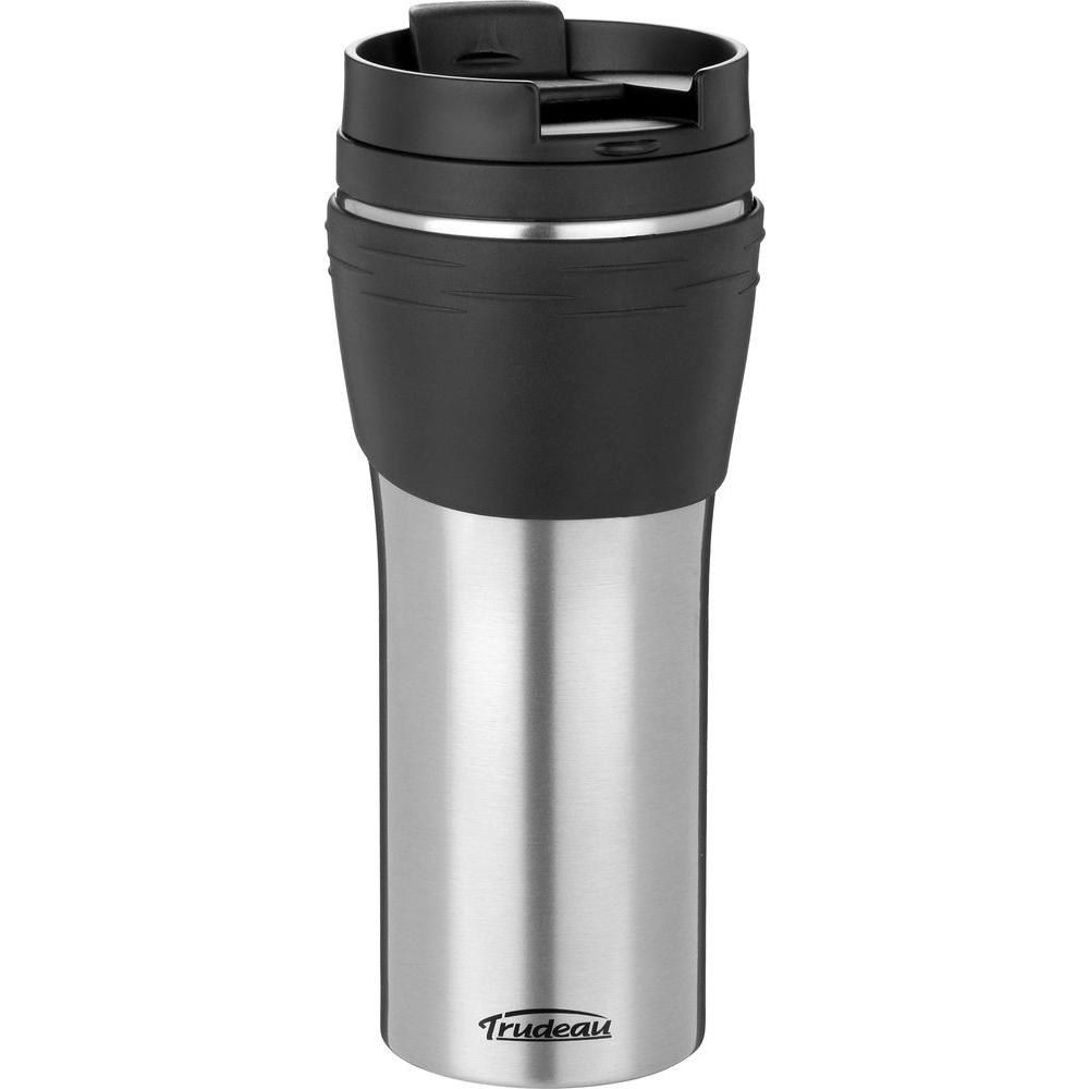 Trudeau 16 oz. Erin Stainless Steel, Double Wall Insulated Travel Tumbler