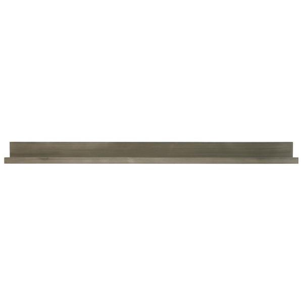 48 in. W x 4.5 in. D x 3.5 in. H Light Gray Driftwood Extended Size Picture Ledge