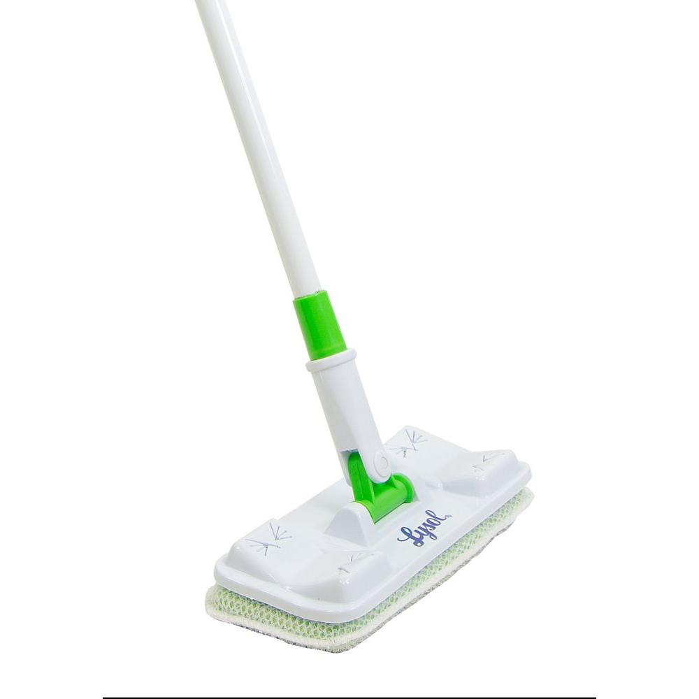 Lysol Flexible Tub And Tile Scrub Brush 573191 The Home Depot