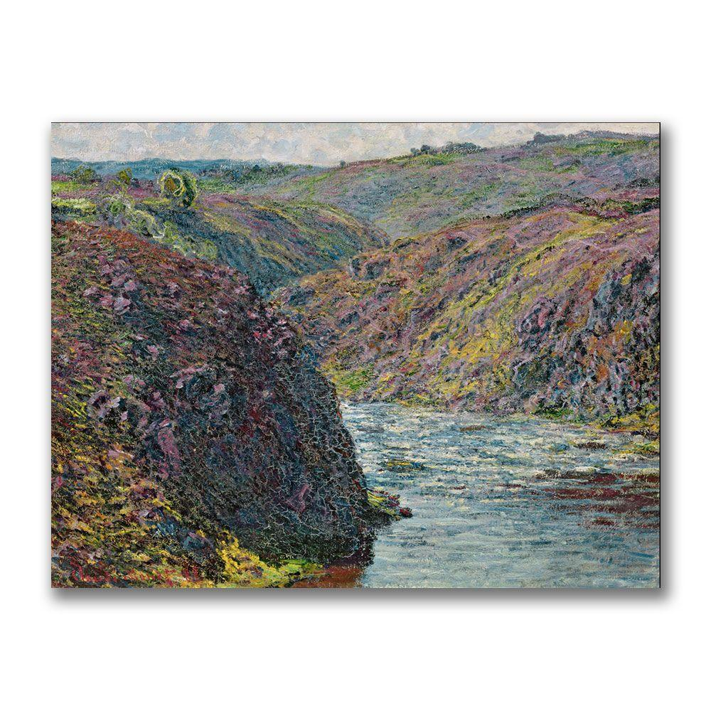 24 in. x 32 in. Ravines of the Creuse Canvas Art