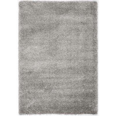California Shag Silver 9 ft. 6 in. x 13 ft. Area Rug