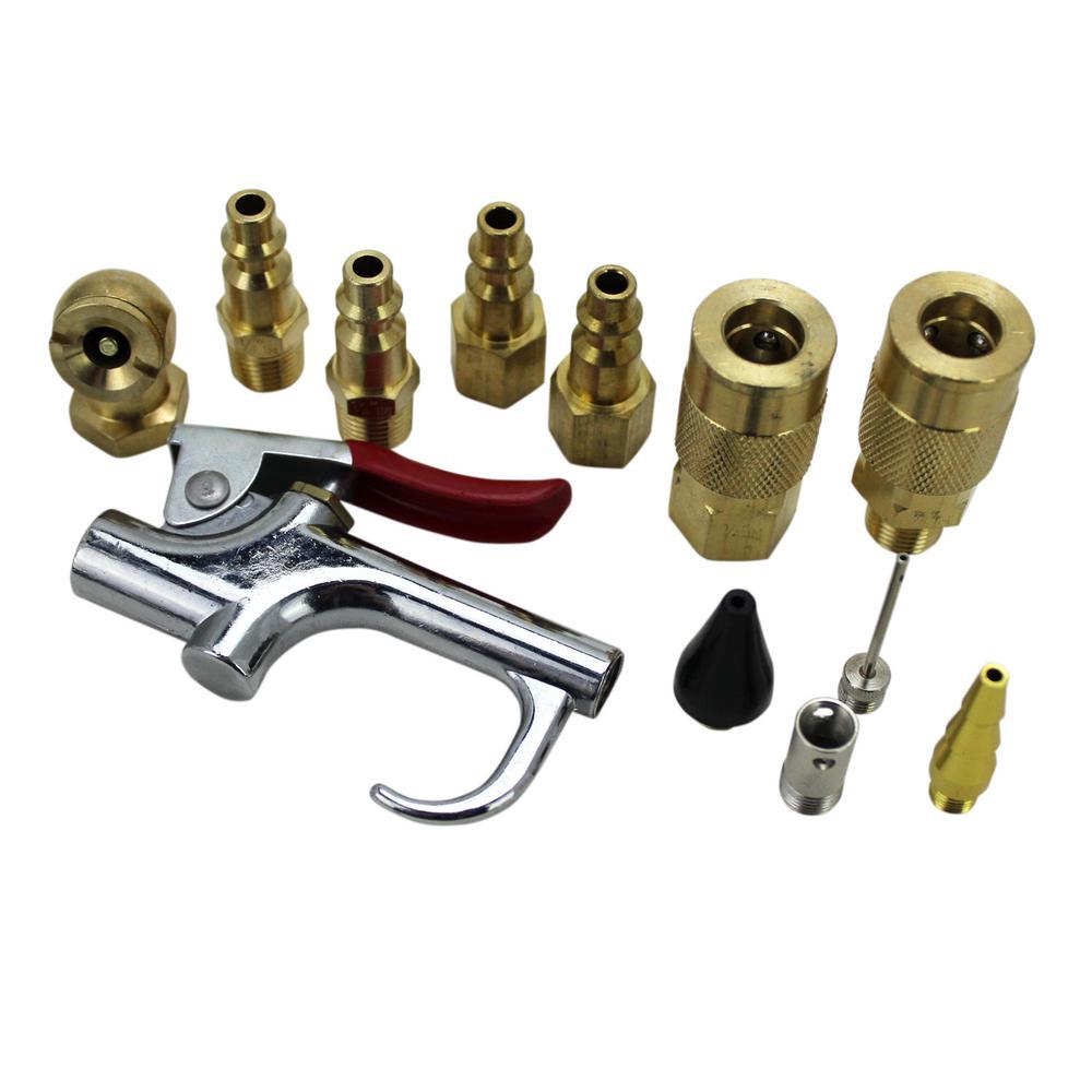 12-Piece Blow Gun Kit