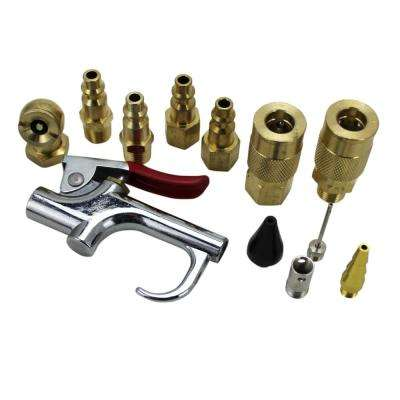 12-Piece Blow Gun Kit