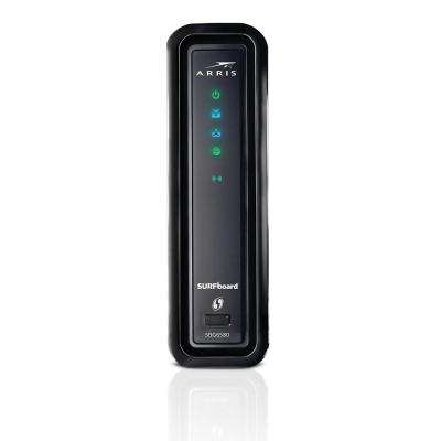 SURFboard DOCSIS 3.0 Cable Modem and Wi-Fi Router SBG6580 with Wireless Gateway Refurbished