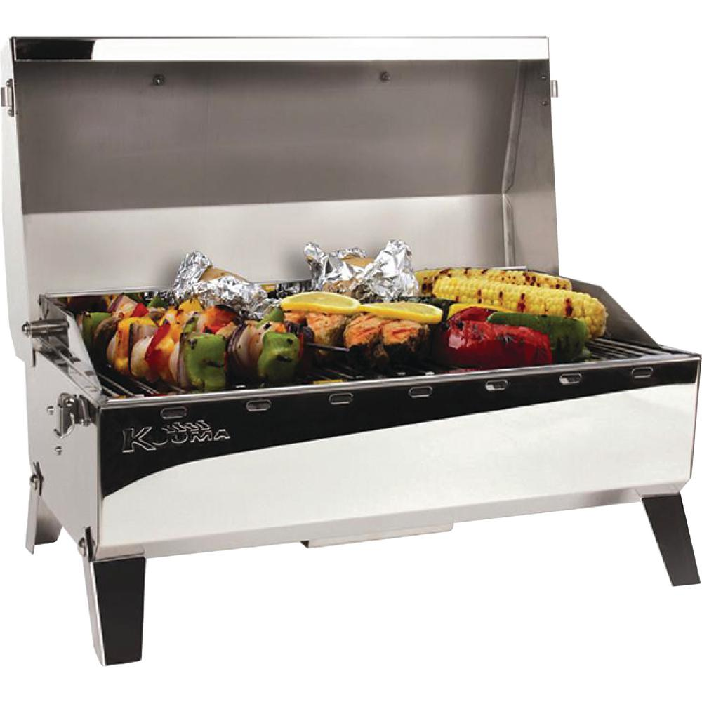Kuuma Portable Propane Gas Stow and Go 160 Grill in Stainless Steel