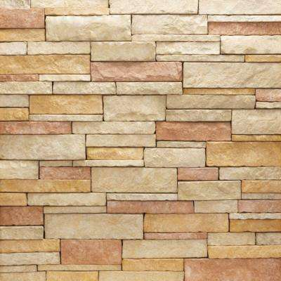 Stacked Stone Rio Flats 10 sq. ft. Handy Pack Manufactured Stone