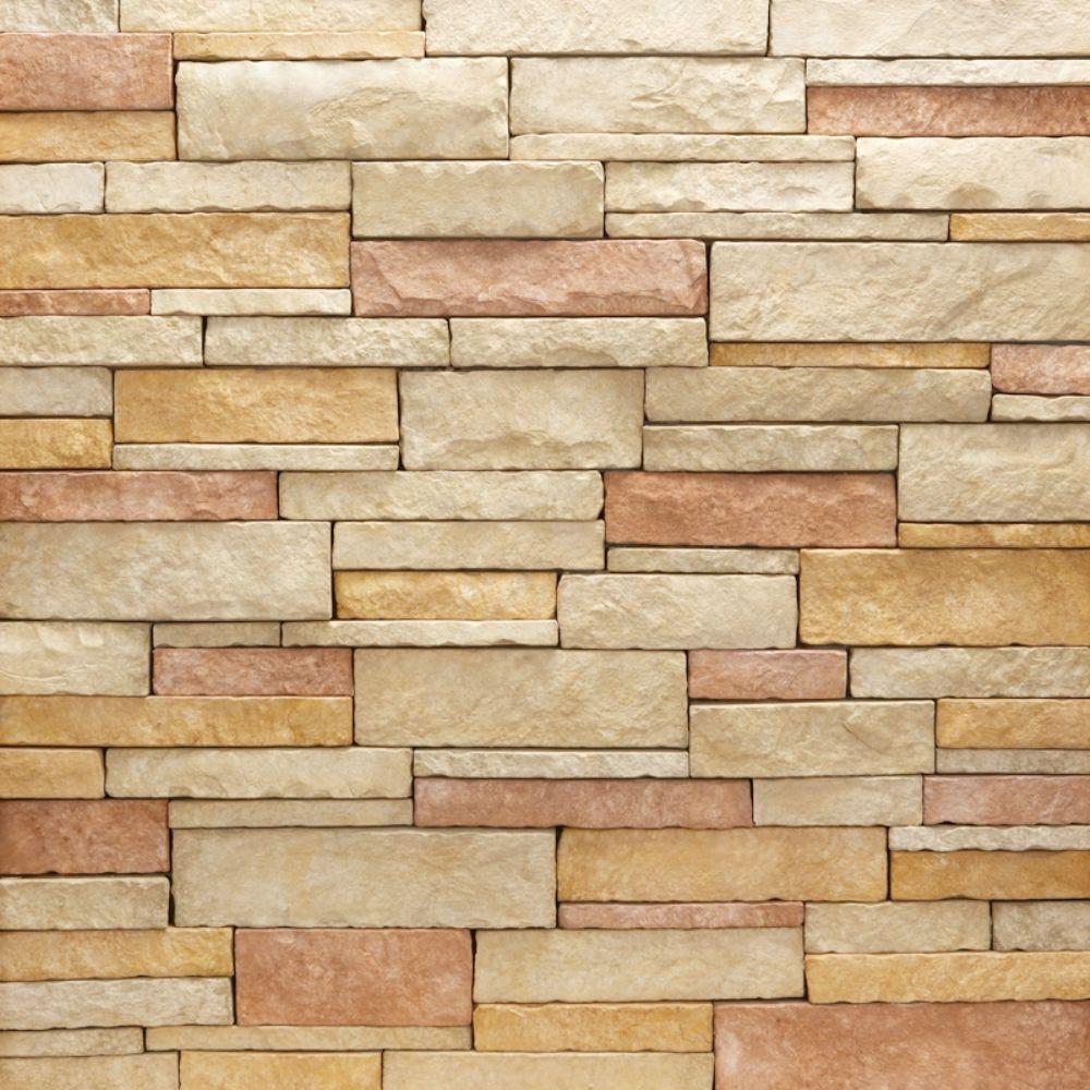 Veneerstone stacked stone rio flats 10 sq ft handy pack for Stacked stone house