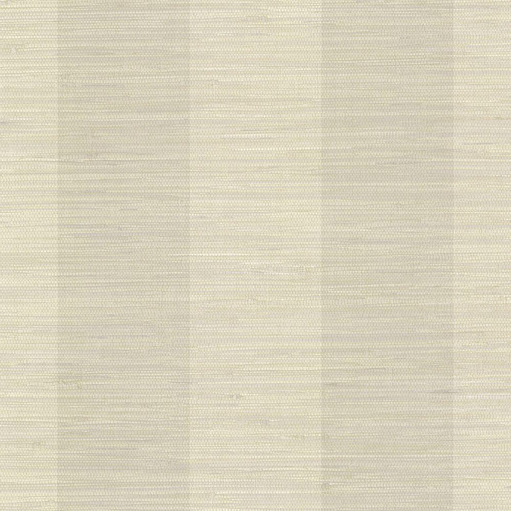Grasscloth Wallpaper: Brewster Jonus Taupe Faux Grasscloth Wallpaper-2741-6010