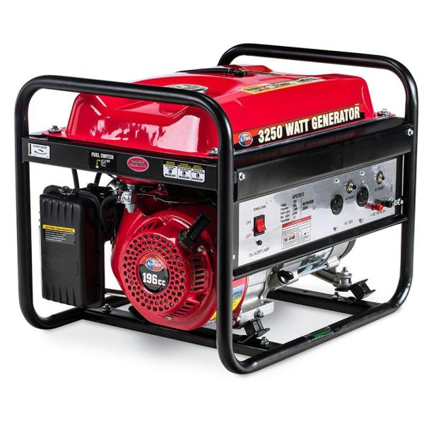 [DIAGRAM_0HG]  All Power 2500-Watt Gasoline Powered Portable Generator with 4-Cycle AVR  System-APG3012 - The Home Depot | Pro Force Generator 2500 Wiring Schematics |  | The Home Depot