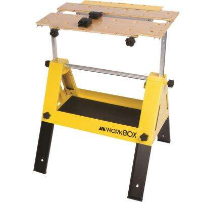 25.5 in. W x 14 in. D x 13.5 in. H Convertible Tool Box to a Work stand