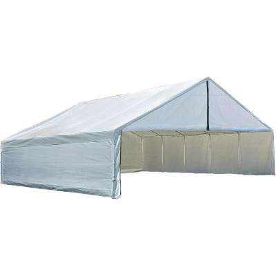 30 ft. W x 40 ft. H Enclosure Kit for Ultra Max Industrial Canopy in White (Canopy and Frame Not Included)