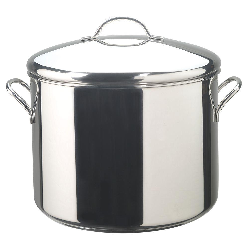 Farberware Classic Series 16 Qt Stainless Steel Stock Pot
