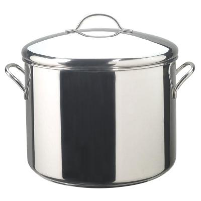 Classic Series 16 Qt. Stainless Steel Stock Pot with Heat Resistant